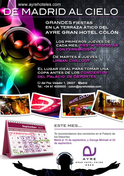 De Madrid Al Cielo En La Terraza ático Del Ayre Gran Hotel