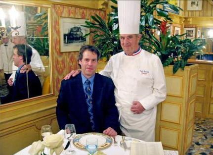 Paul Bocuse y Pascal Henry